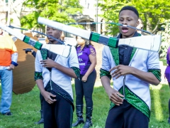 Bronzeville In Your Neighborhood-The South Shore Drill Team.  Image by Cynthia Anderson