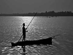 Transport on Togo Lake - Image by Isadore Howard